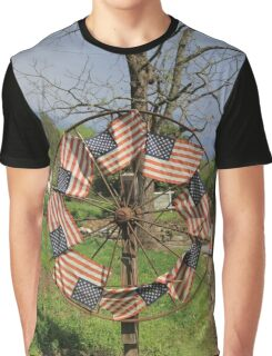Pan AM #50 - Flags of our fathers Graphic T-Shirt