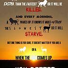 You Better Start Running by inspiration4us