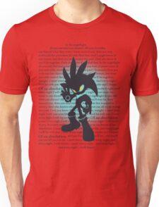 Silver the Hedgehog Lyrics T-Shirt