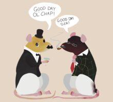 """two """"fancy"""" rats by Scribble-Rapo"""