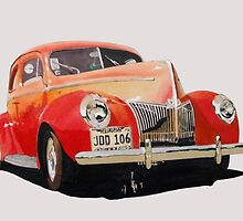Early American Ford (1940). by TimeMachine