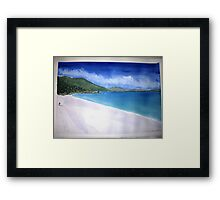 Waterloo Bay Summer 2013 Framed Print