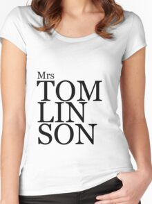 Mrs Tomlinson Women's Fitted Scoop T-Shirt