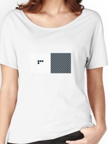 Number BLACK+white 4 Women's Relaxed Fit T-Shirt