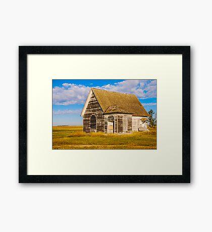 The Sunbeam Church Framed Print