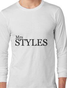 Mrs Styles Long Sleeve T-Shirt
