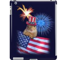 Patriotic Squirrel iPad Case/Skin