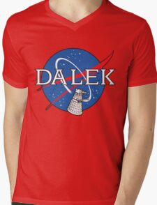 Dalek Space Program Mens V-Neck T-Shirt