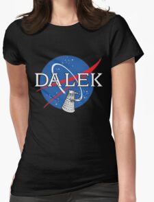 Dalek Space Program Womens Fitted T-Shirt