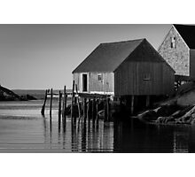 Fishing Village at Peggys Cove Nova Scotia Photographic Print