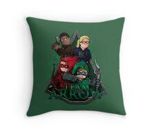 Team Arrow Throw Pillow