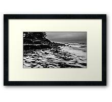 Receding Tide at Ross Creek Nova Scotia Framed Print