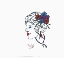 Elegant Hair Pin girl by Red Gold