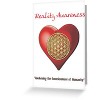 Reality Awareness Greeting Card