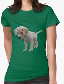 Cute labrador retriever Womens Fitted T-Shirt