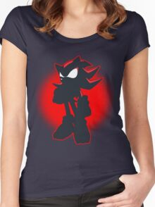 Shadow the Hedgehog Women's Fitted Scoop T-Shirt