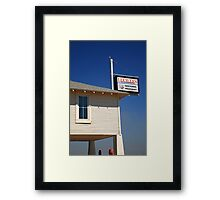 Route 66 - Lucille's Gas Station Framed Print