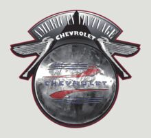 AMERICAN VINTAGE CHEVROLET HUBCAP DESIGN by Larry Butterworth