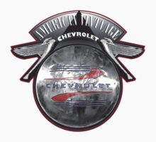 AMERICAN VINTAGE CHEVROLET HUBCAP DESIGN Kids Clothes