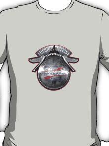 AMERICAN VINTAGE CHEVROLET HUBCAP DESIGN T-Shirt