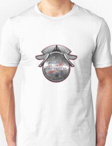 AMERICAN VINTAGE CHEVROLET HUBCAP DESIGN Unisex T-Shirt