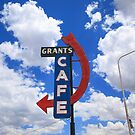 Route 66 - Grants Cafe by Frank Romeo