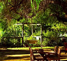 Boorooban pub beer garden by outbacksnaps