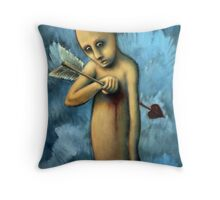 Target Practice (brainstemming.com) Throw Pillow