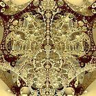 M3D: Sepia Scaffolding @ Sagrada Familia (G1166) by barrowda