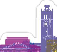 Toulouse skyline pop Sticker