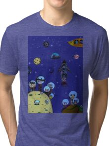 Interstellar hunting 2.0 Tri-blend T-Shirt