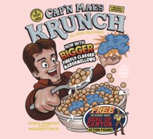 Captain Mal's Krunch Cereal One Piece - Short Sleeve