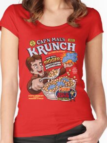 Captain Mal's Krunch Cereal Women's Fitted Scoop T-Shirt