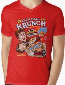 Captain Mal's Krunch Cereal Mens V-Neck T-Shirt