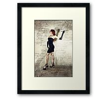 Just Desserts Framed Print