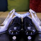 Wedding Shoes And Wedding rings by loyaltyphoto