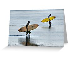 Let`s Surf...!! Greeting Card