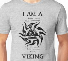 I am a Viking (valknut) Unisex T-Shirt