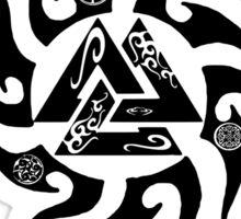 I am a Viking (valknut) Sticker