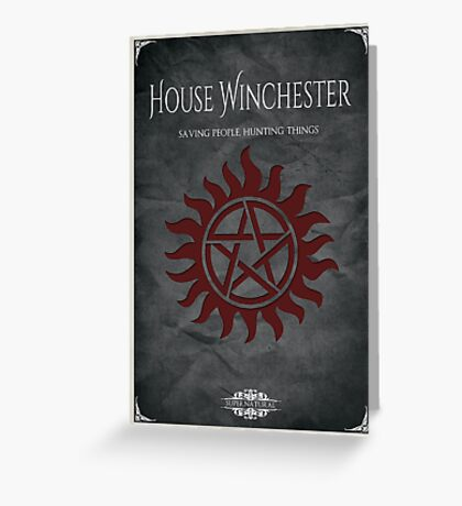 House of Winchester Greeting Card