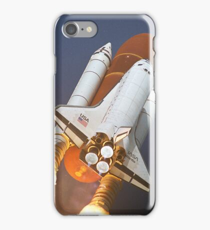 Atlantis STS-45 Launch NASA iPhone Space Case iPhone Case/Skin