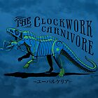 Clockwork Carnivore (Blue EUPARKERIA-TYPE) by cubelight
