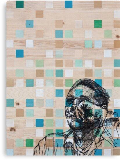 Checker Face by ZachHoskin