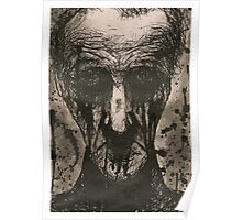 Ink Face Poster