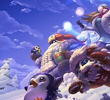 Snow Day Skins 2015 League of Legends by LexyLady