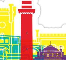 Trieste skyline pop Sticker
