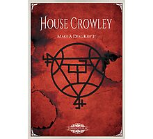 House of Crowley Photographic Print