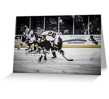 Battle for the goal Greeting Card