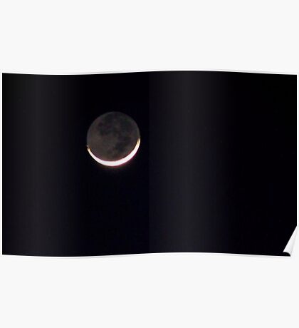 Solitary Moon Poster