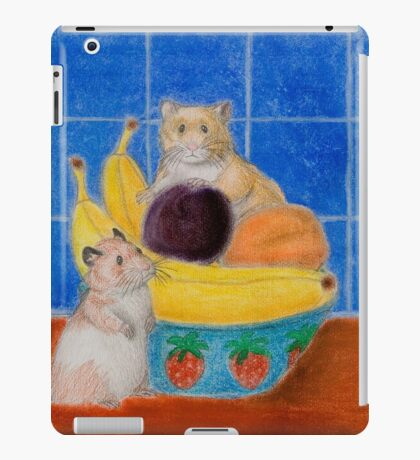 Hamsters In Fruit Bowl iPad Case/Skin